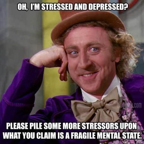 oh i'm stressed