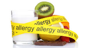 allergy caution tape