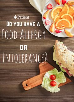 What to do if i ponder i own a food allergy